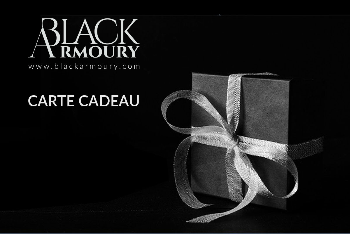 Carte Cadeau Black Armoury