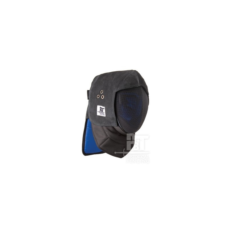 Leather Fencing Mask and Occipital Overlay